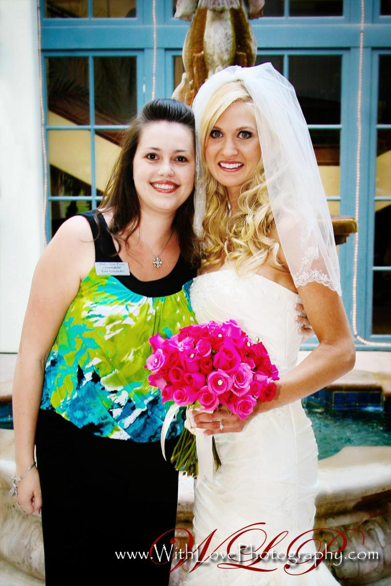 Bride Kelli Schillinger and Tara Fernandez, by With Love Photography